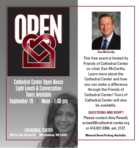 Cathedral Center Open House 9.18.19